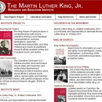 Dr. Martin Luther King, Jr – Daily 1-17-11