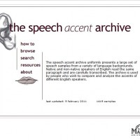 The Speech Accent Archive – SBNR Daily 2-25-11