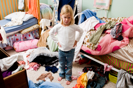 The answer to messy kids rooms How do you clean your bedroom